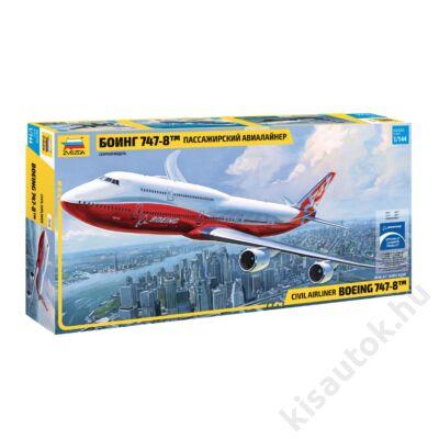 Zvezda 1:144 Civil Airliner Boeing 747-8