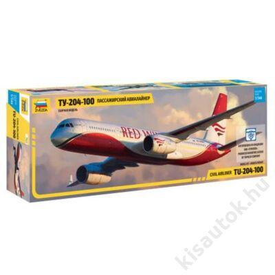 Zvezda 1:144 Civil Airliner Tu-204-100