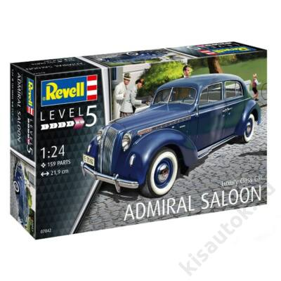 Revell 1:24 Luxury Class Car Admiral Saloon