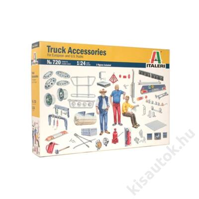 Italeri 1:24 Truck Accessories For European and U.S. Trucks
