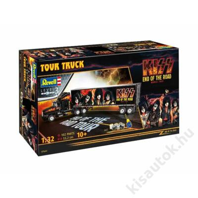Revell 1:32 KISS End of the Road Tour Truck Gift SET