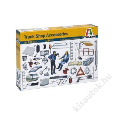 Italeri 1:24 Truck Shop Accessories