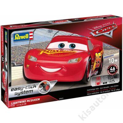 Revell 1:24 Lightning McQueen Easy-Click