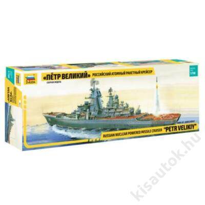 "Zvezda 1:700 Russian Nuclear Powered Missile Cruiser ""Petr Velikiy"""