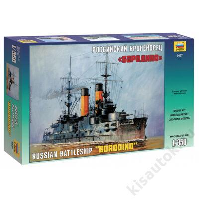 """Zvezda 1:350 Russian Battleship """"Borodino"""""""