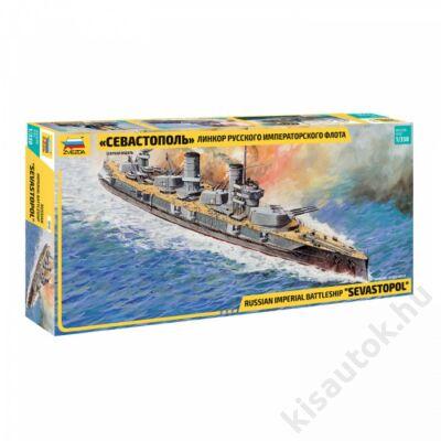 """Zvezda 1:350 Russian Imperial Battleship """"Sevastopol"""""""