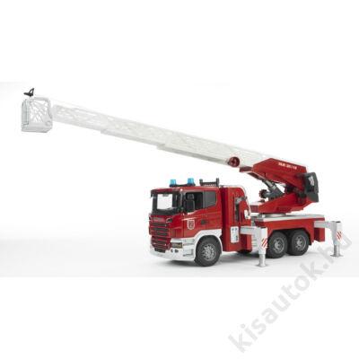 Bruder Scania R-szériás tűzoltóautó
