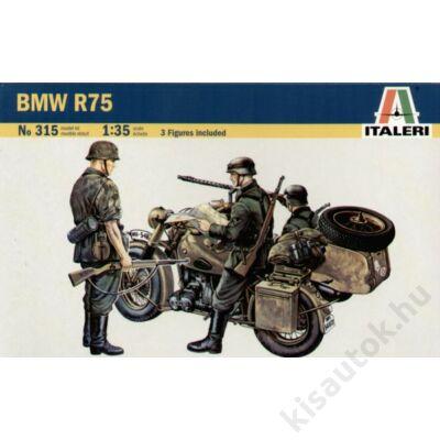Italeri 1:35 BMW R75 with Sidecar