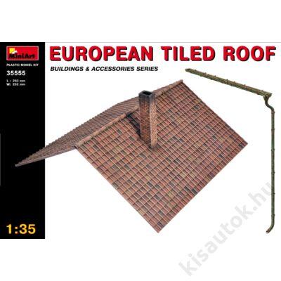 MiniArt 1:35 European Tiled Roof