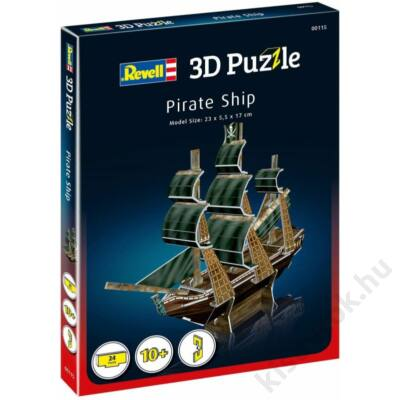 Revell Kalózhajó mini 3D puzzle