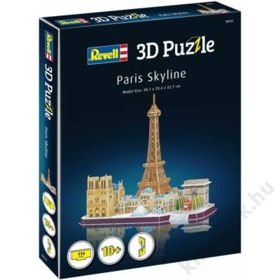 Revell Párizs 3D puzzle