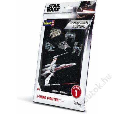 Revell 1:112 X-Wing Fighter Easy-Click Star Wars makett