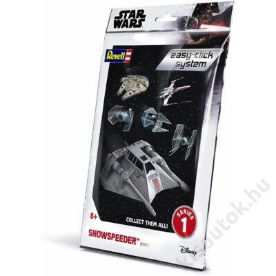 Revell 1:52 Snowspeeder Easy-Click Star Wars makett