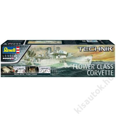 Revell 1:72 Flower Class Corvette TECHNIK