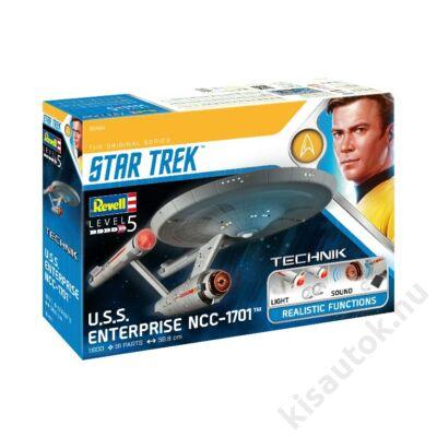 Revell 1:600 Star Trek U.S.S. Enterprise NCC - 1701 (The Original Series) TECHNIK