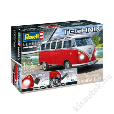 Revell 1:16 Volkswagen T1 Samba Bus TECHNIK
