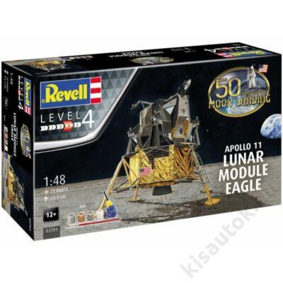 Revell 1:48 Apollo 11 Lunar Module Eagle 50th Anniversary Gift SET űrhajó makett