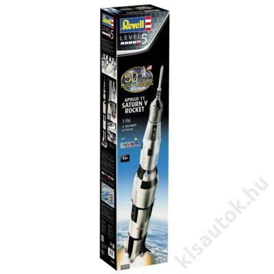 Revell 1:96 Apollo 11 Saturn V rocket 50th Anniversary Gift SET űrhajó makett