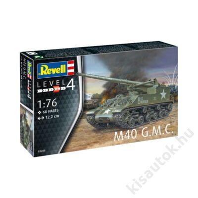 Revell 1:76 M40 G.M.C. tank makett
