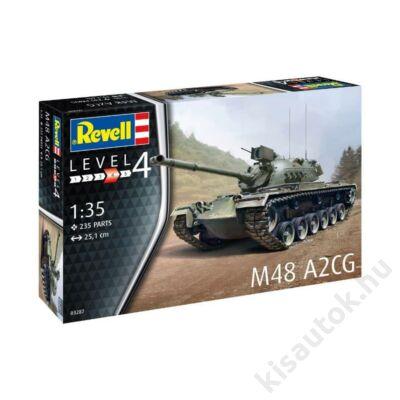 Revell 1:35 M48 A2CG tank makett