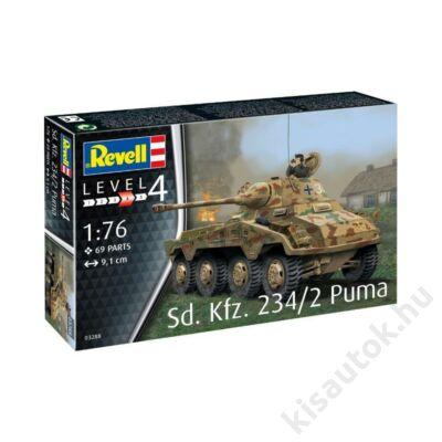 Revell 1:76 Sd. Kfz. 234/2 Puma tank makett