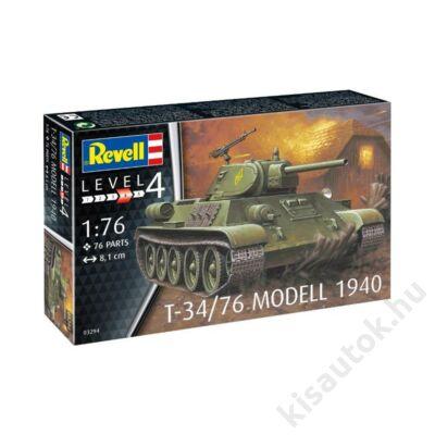 Revell 1:76 T-34/76 Modell 1940