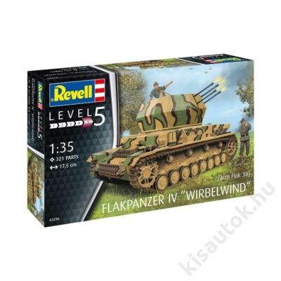 "Revell 1:35 Flakpanzer IV ""Wirbelwind"" (2cm Flak 38) tank makett"