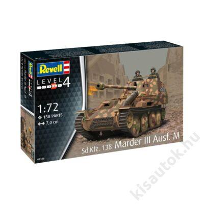 Revell 1:72 Sd.Kfz. 138 Marder III Ausf. M tank makett