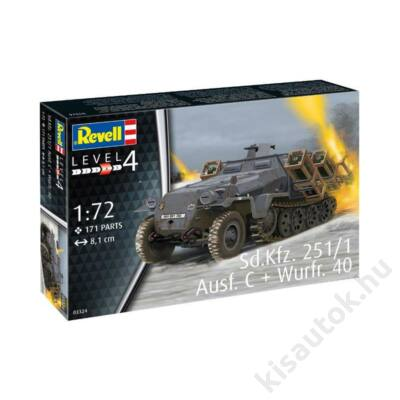 Revell 1:72 Sd.Kfz. 251/1 Ausf. C + Wurfr. 40
