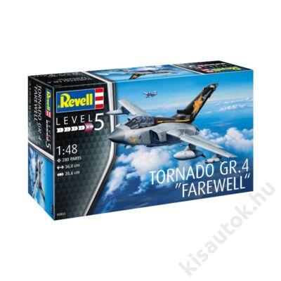 """Revell 1:48 Tornado GR.4 """"Farewell"""" repülő makett"""