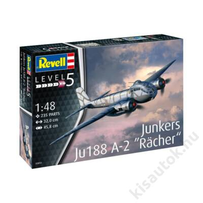 Revell 1:48 Junkers Ju188 A-1 Racher repülő makett