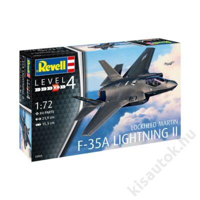 Revell 1:72 Lockheed Martin F-35A Lightning II repülő makett