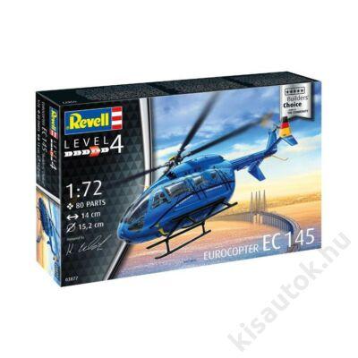 """Revell 1:72 Eurocopter EC 145 """"Builders' Choice"""" helikopter makett"""