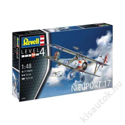 Revell 1:48 Nieuport 17 repülő makett