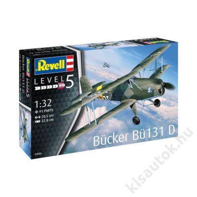 Revell 1:32 Bücker Bü131 D Jungmann repülő makett
