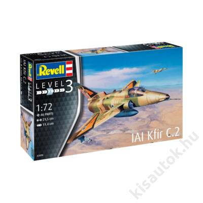 Revell 1:72 IAI Kfir C.2 repülő makett