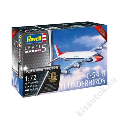 Revell 1:72 Douglas C-54D Thunderbirds Platinum Edition Limited repülő makett