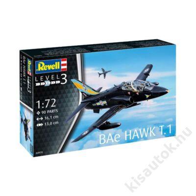 Revell 1:72 BAe Hawk T.1 repülő makett