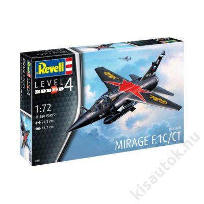 Revell 1:72 Dassault Mirage F.1C/CT repülő makett