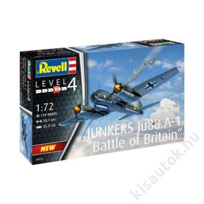 Revell 1:72 Junkers Ju 88 A-1 Battle of Britain repülő makett