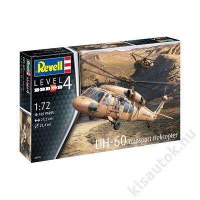 Revell 1:72 UH-60 Transport Helicopter helikopter makett