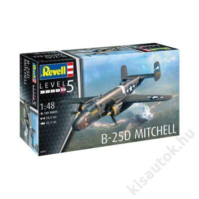 Revell 1:48 B-25D Mitchell repülő makett