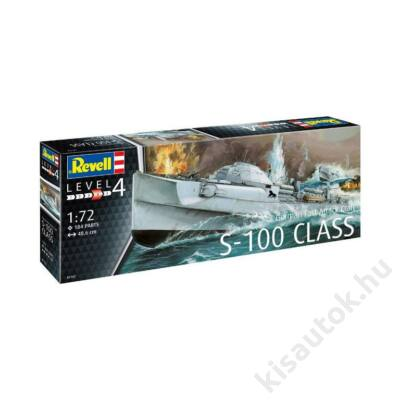 Revell 1:72 German Fast Attack Craft S-100 Class