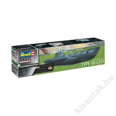 Revell 1:72 German Submarine Type VII C/41
