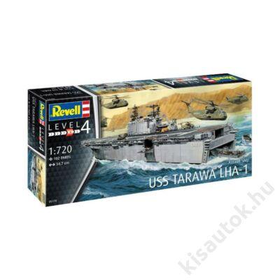 Revell 1:720 Assault Ship USS Tarawa LHA-1 hajó makett