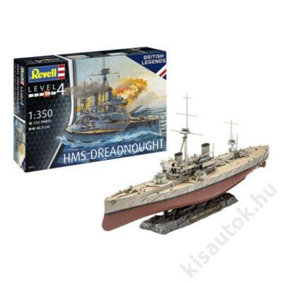 Revell 1:350 HMS Dreadnought hajó makett