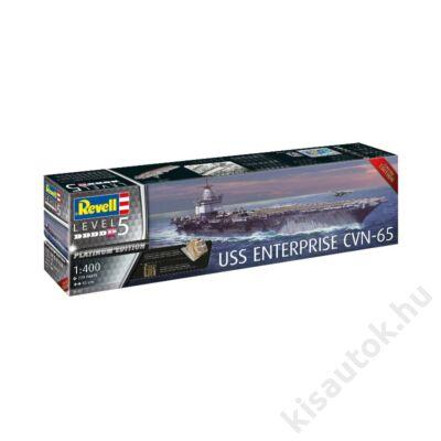 Revell 1:400 USS Enterprise CVN-65 Limited Platinum Edition