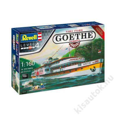 Revell 1:160 Paddle Steamer Goethe Rheindampfer Gift SET Limited Edition