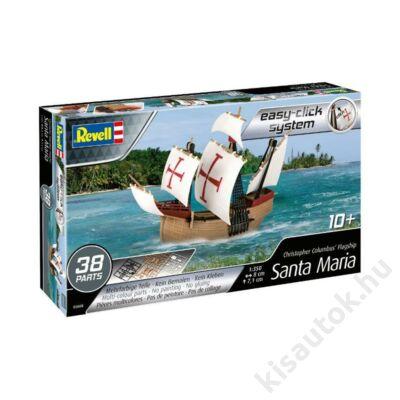 Revell 1:350 Christopher Colombus' Flagship Santa Maria Easy-Click