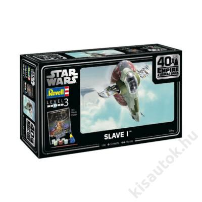 Revell 1:88 Star Wars Slave I 40th Anniversary The Empire strikes back Gift SET